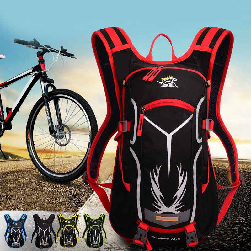 Detail Feedback Questions about 18L Waterproof Outdoor Sport Bicycle  Backpack Ultralight Bike Riding Travel Mountaineering Camping Bag Large  Capacity 5 ... acbc0bc96