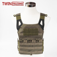 Airsoft 1000D Molle Tactical Vest Military Chest Protective Amphibious Pockets Plate Carrier Paintball Wargame VT01