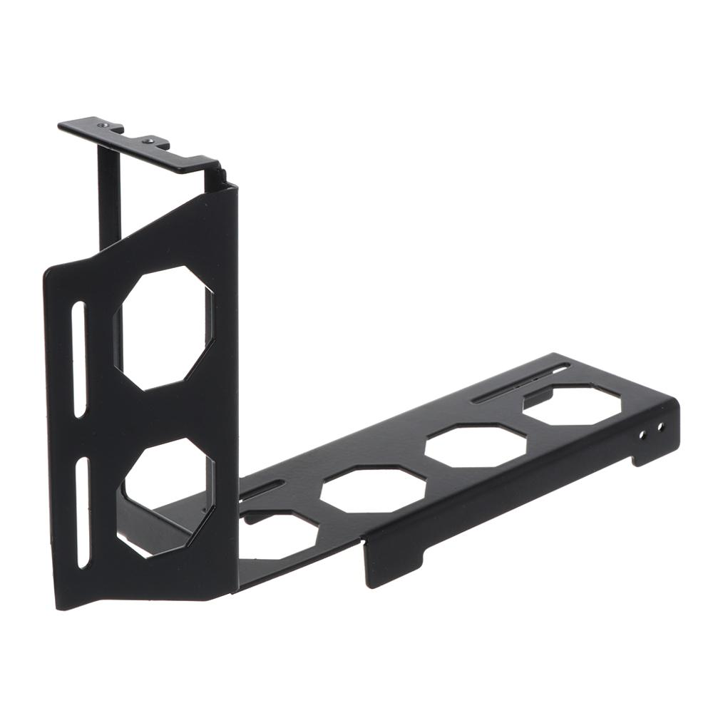 Metal Graphics VGA Card Holder Support Computer Cooling Cooler Radiator Bracket