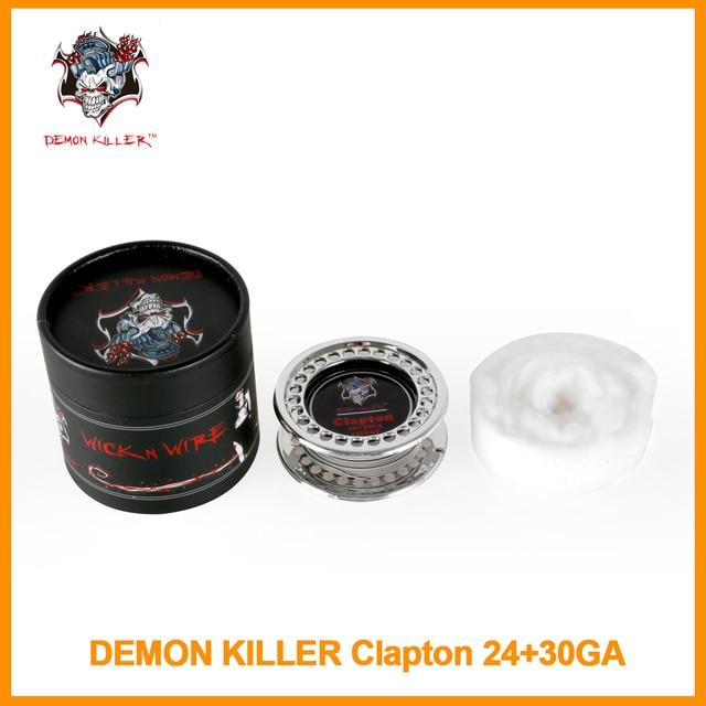Original Dämon Mörder Clapton Draht 24 + 30 GA Draht Box 5 mt/Rolle ...