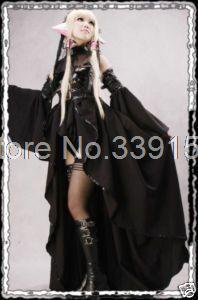 New Supper Funny Black Cospaly Gothic Lolita Dress,Halloween Vampire Costumes