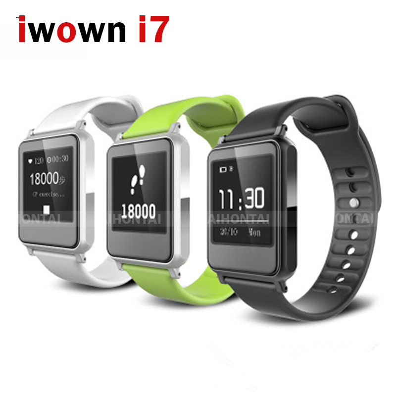 ФОТО Original iwown i7 Smart Watch Smartwatch Bracelet Health Wearable Devices Heart Rate Fitness Activity Wristband Sports Watch