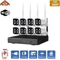 Stardot Plug And Play 8CH NVR Wireless CCTV System 960P HD H 264 IP66 Mini Home