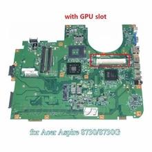 MBAYV01001 MB.AYV01.001For acer aspire 8730 8730G 8730ZG laptop motherboard PM45 DDR2 With graphics slot BIG BEAR 48.4AV01.021