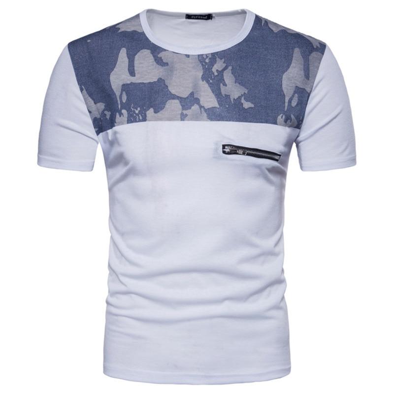 新しいメンズファッションtシャツ半袖tシャツ夏プリントプルオーバーメンズ服メンズtシャツ