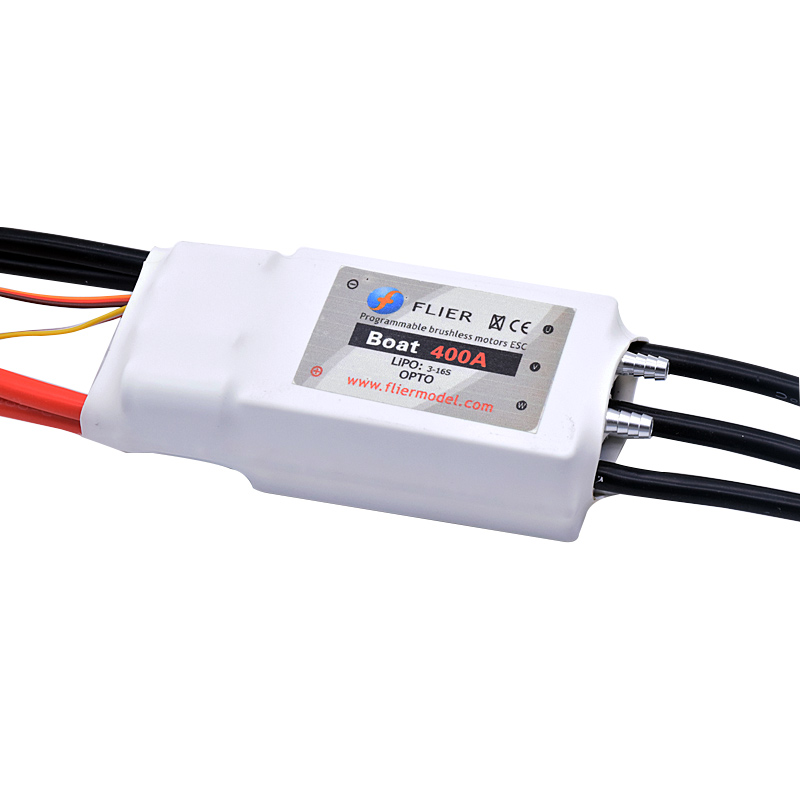 FATJAY FLIER 400A 3 16S high voltage ESC brushless speed controller with USB program cable for