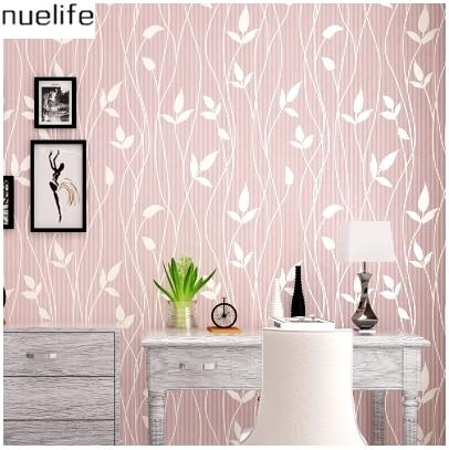 plain background wall pattern bedroom tv living children leaves nonwovens wallpapers