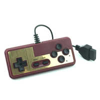 Gaming console gamepad 8-bit style 15Pin Plug Cable Controller For N-E-S for F-C joystick handle