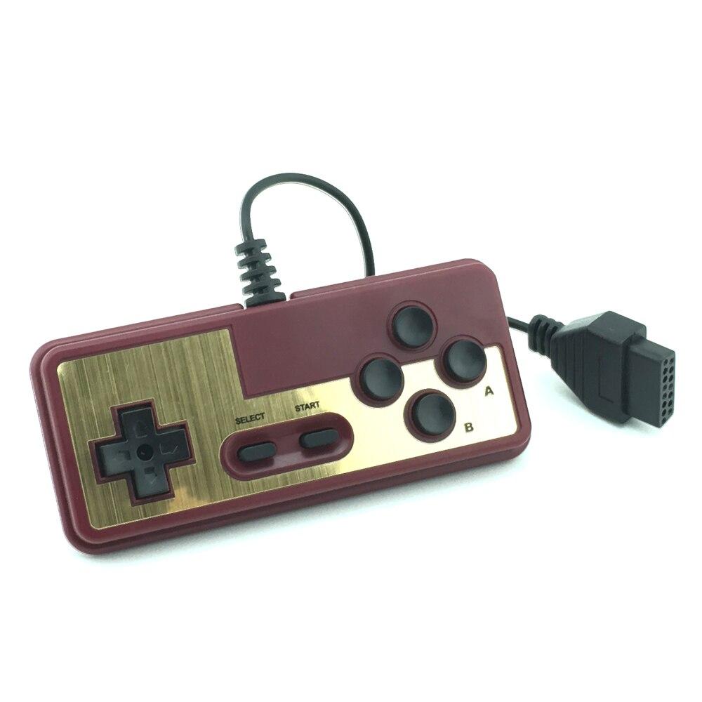 Gaming konsole gamepad 8-bit stil 15Pin Stecker Kabel Controller Für N-E-S für F-C joystick griff