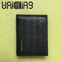 2017 Luxury brand Genuine Leather Crocodile driver's license card holder cow leather Business Card Top grade men card holder