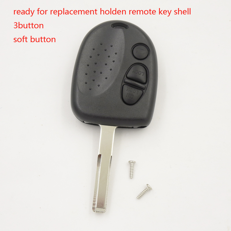Cocolockey 3 кнопки дистанционного ключа чехла костюмы против WH WK WL VT VX В. Ю. В. З. для Holden Commodore без логотип