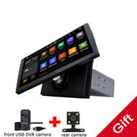 Universal 1 din Android 9.0 Octa Core Car DVD player GPS Wifi BT Radio BT Network Steering wheel RDS