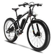 XF660 Mans All Road 4.0 Fat Tire Electric Bicycle 500Watt Power Motor  48V 10.4 ah Li-Battery Machinical Disc Brakes