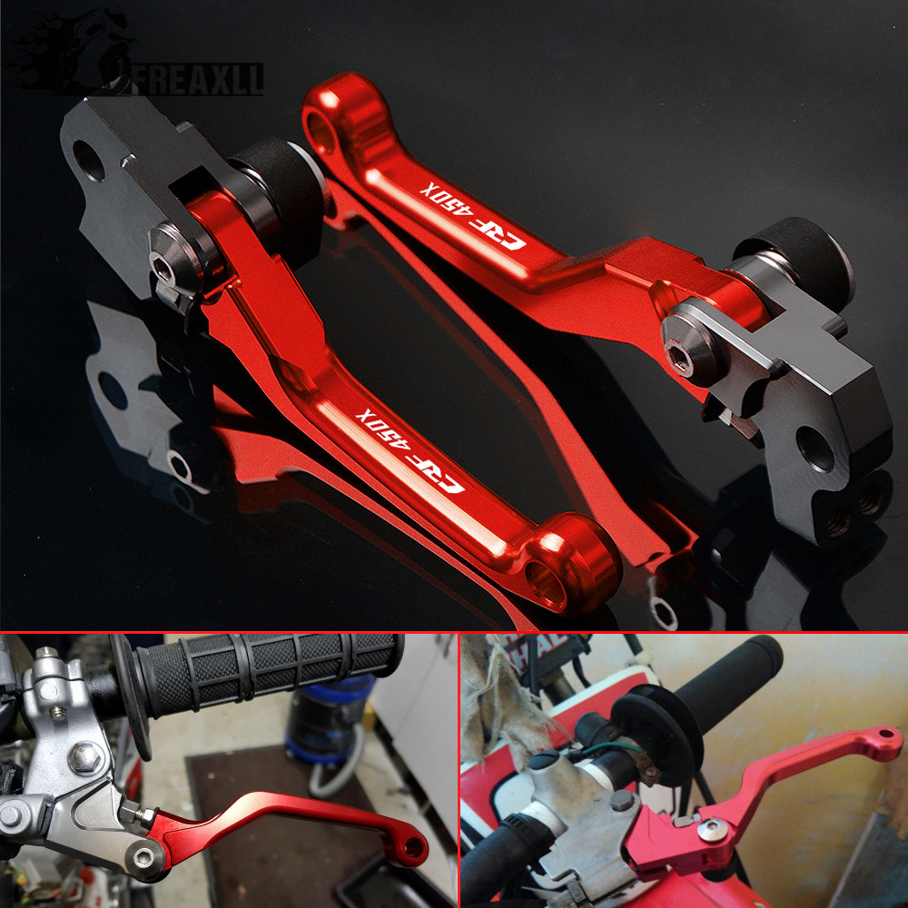 Pivot Dirt bike Brake Clutch Levers Motorcycle Parts For Honda CRF450X <font><b>CRF</b></font> <font><b>450X</b></font> <font><b>CRF</b></font> 450 X 2005 - 2017 2006 2007 2008 2009 2010 image