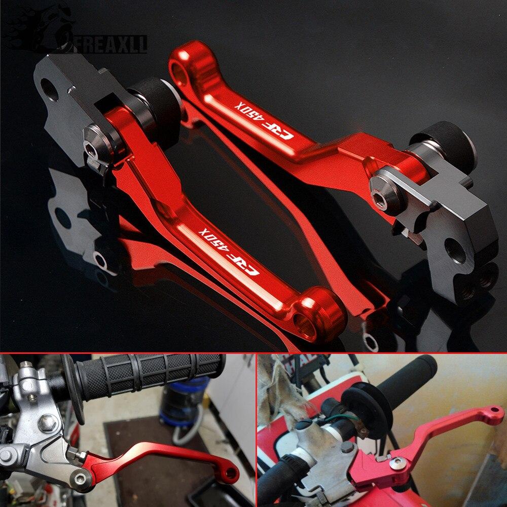 alavancas de embreagem do freio para moto pivot pecas de motocicleta para honda crf450x crf