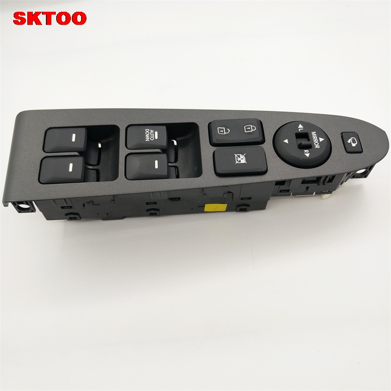 SKTOO For Kia sportage R window lifter switch assembly with the mirror fold the left front door glass levelers switch with high image