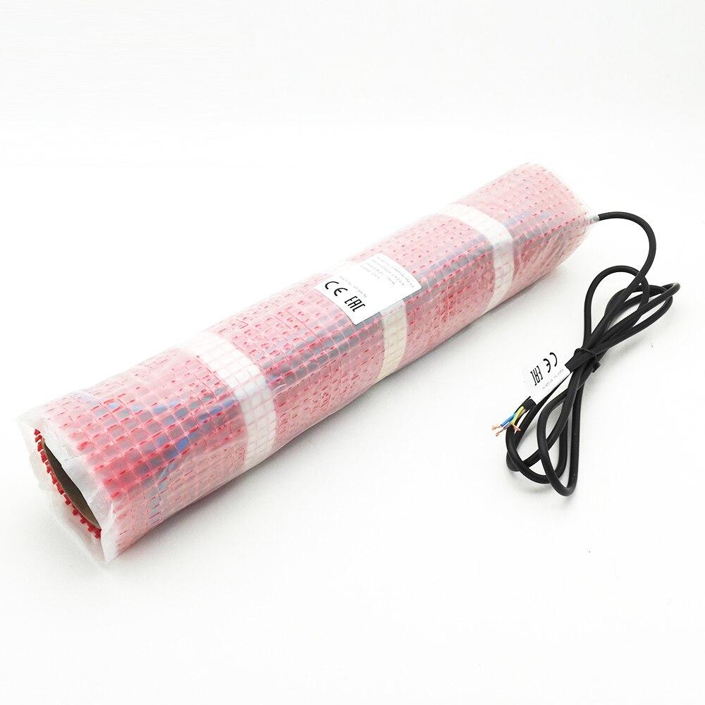 Minco Heat 8 м x 50 см 150 ватт тающий снег теплый пол коврик, FEP изолированный прочный и безопасный нагревательный коврик - 2