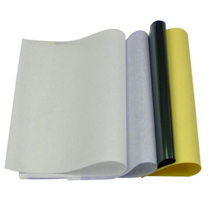 Image 3 - 10 יח\סט קעקוע סטנסיל פחמן תרמית התחקות הקטוגרף העברת עותק נייר