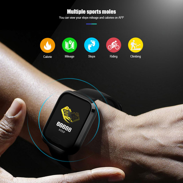 VERYFiTEK IP67, Monitor Heart Rate, Blood Pressure, Smartwatch for IOS or Android…