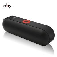NBY S18 Портативный Bluetooth Динамик с двойной драйвер громкий Динамик, 12 часов непрерывной работы, HD Audio сабвуфер Беспроводной громкоговоритель с...