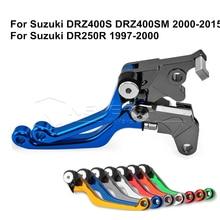 цена на CNC Dirttbike Pivot Brake Clutch Levers for Suzuki DRZ400S DRZ400SM DRZ 400S 400SM 2000-2015 DR250R 1997-2000