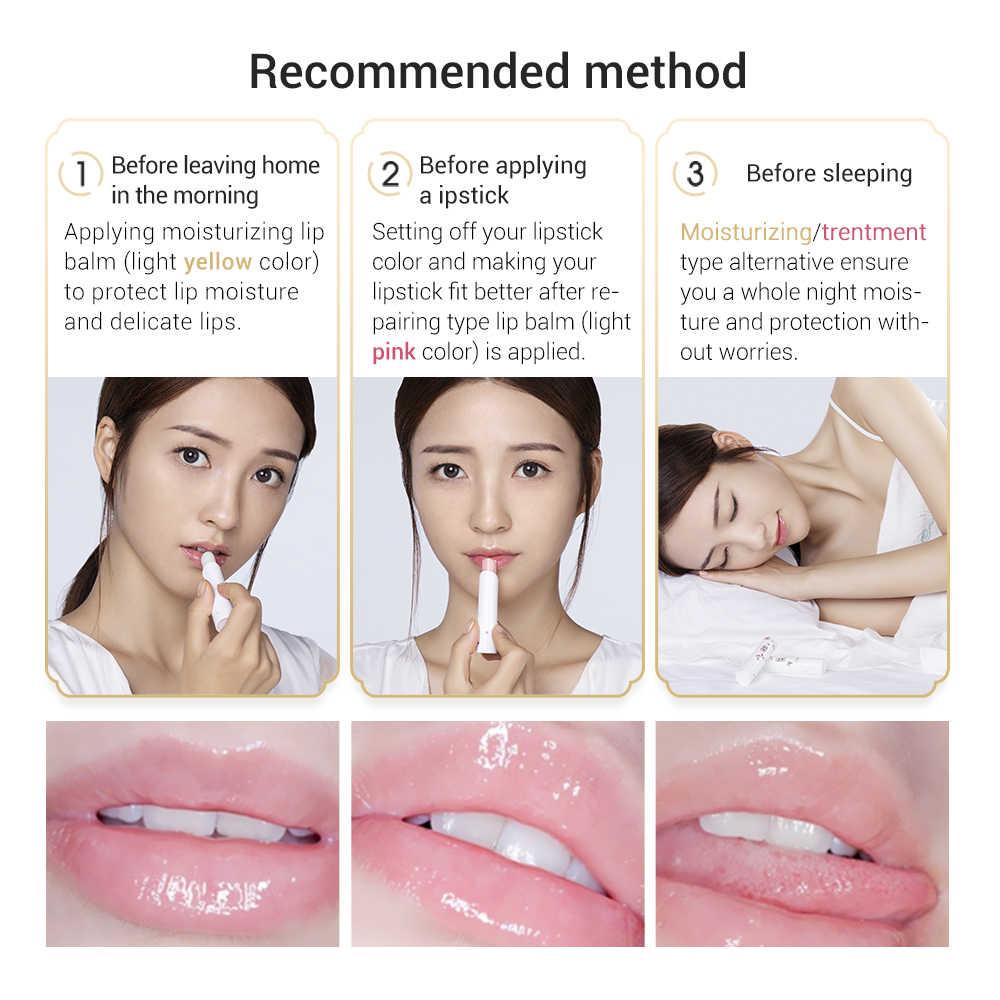 SOONPURE bálsamo labial ácido hialurónico labios Plumper nutritivo y para hidratación de labios aceite arrugas Reparación de lápiz labial maquillaje cuidado de labios