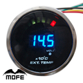 Original Logo 52mm 2 inch 20PCS Analog LED Digital EGT Exhaust Gas Temperature Gauge With Sensor