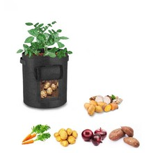 Vegetable Plant Grow Bags have access to 7 years of life Potato Planter Non-woven fabrics Cloth Tomato Planting Container