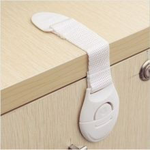 5pcs/lot baby lock Baby safty Drawers lock Bendy Door Safety Lock For Child Kids refrigerator baby safety lock FZ1004