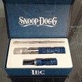 Queima de snoop dogg g caneta Erva seca cera vaporizador de ervas caixa de presente-caso e cigarro venda Quente barato eletrônico kit cigarro