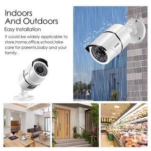 Image 3 - ZOSI 16CH 1080p نظام مراقبة بالفيديو مع 8 قطعة 2.0MP للرؤية الليلية في الهواء الطلق/داخلي كاميرات أمنية منزلية 16CH CCTV DVR عدة