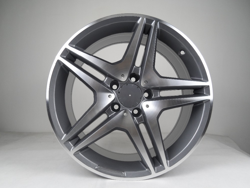 19 Gunmetal Machine Face AMG STYLED RIMS FOR BENZ C300 W212 W204 C350 4MATIC 45 W828