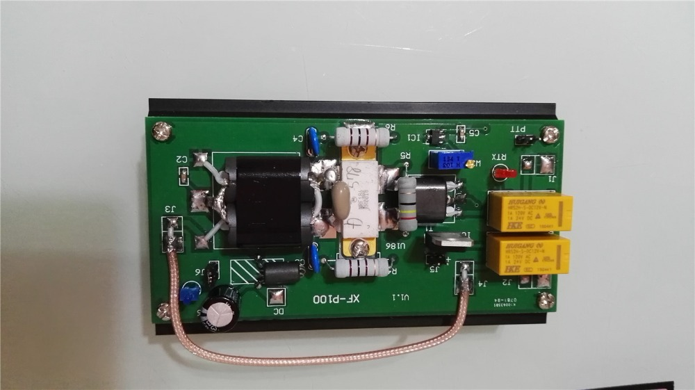 3.5 30Mhz 90W HF Power Amplifier For FT 817 IC 703 SUNSDR2 PRO KX3 QRP Ham Radio
