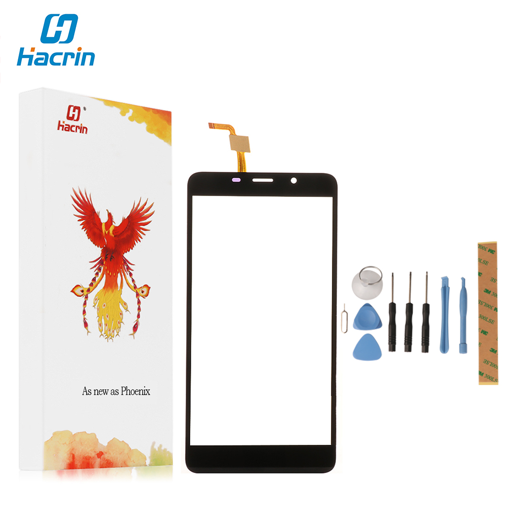 hacrin For Leagoo M8 Touch Screen 100% New Digitizer Touch Glass Panel Replacement For Leagoo M8 Pro Smart Phone in Stock