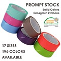 196 COLORS Solid Colors Grosgrain Ribbons 3 5 6 9 13 16 19 22 25 28 32 38 50 57 63 75 89 100mm for Gift DIY Craft Sewing Wedding