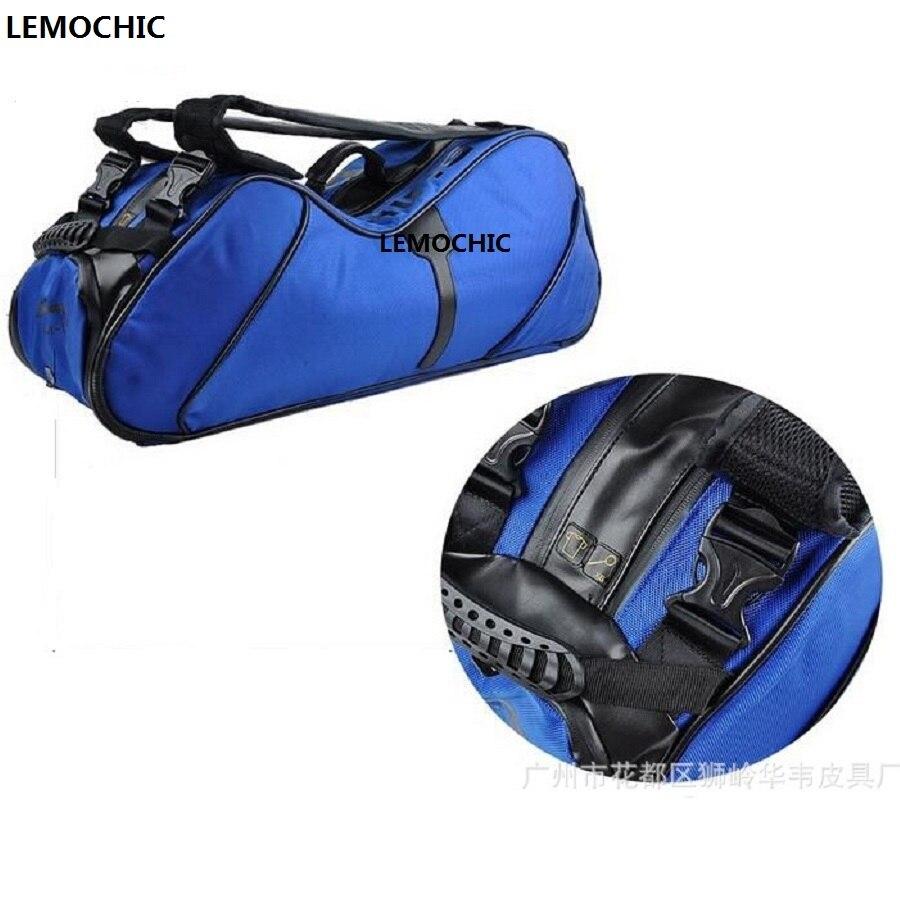 Высокое качество бадминтон сумка новый Mochilas фитнес сумки foroutdoor езда путешествия на открытом воздухе тренажерный зал Спорт Путешествия Duffle ...