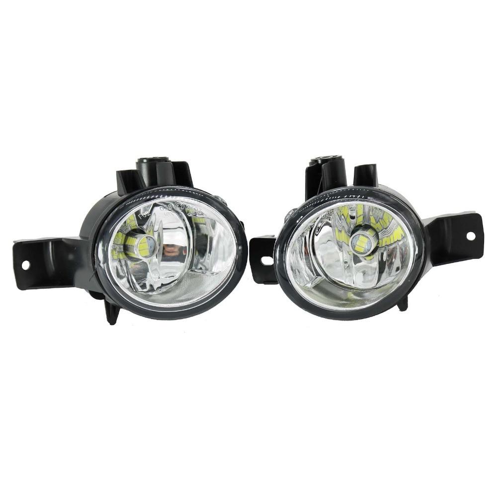 2шт для BMW Х6 е71 Е72 2008 2009 2010 2011 2012 передние светодиодные Противотуманные фары Противотуманные лампы светодиодные лампы