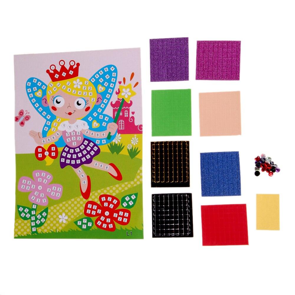 3D-Foam-Mosaics-Sticky-Crystal-Art-PrincessButterflies-Sticker-Game-Craft-Art-Sticker-Kids-Children-GiftIntelligent-Development-2