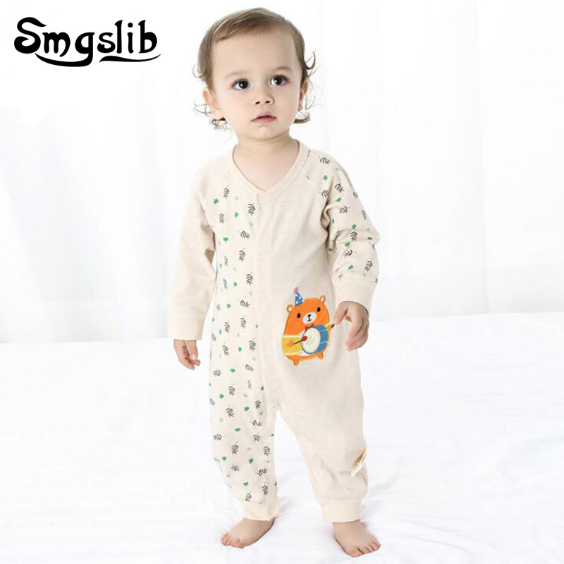 1f755fd6fa04 Newborn baby clothes cheap long sleeve Baby Girl boy Clothes 6 9 12 18  Months Cute cotton Infant Jumpsuit baby christmas romper-in Rompers from  Mother ...