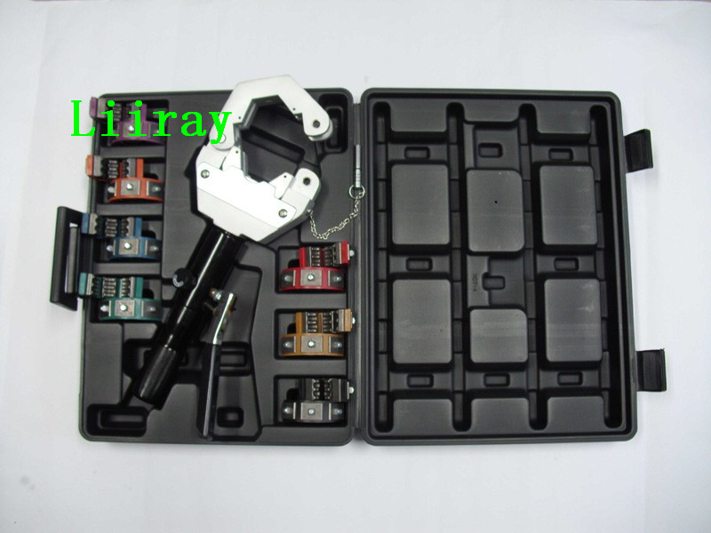 US $145 0  AUTO AC HOSE Hose Crimper Tool Crimping Machine /SD 7842 Manual  Hydraulic Hose Crimping Tool for Repair Air Condition Hose-in Car Air