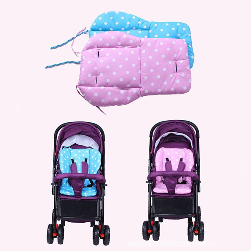 new baby strollers mat pad baby car seat stroller accessories cushion buggy carriage shopping. Black Bedroom Furniture Sets. Home Design Ideas