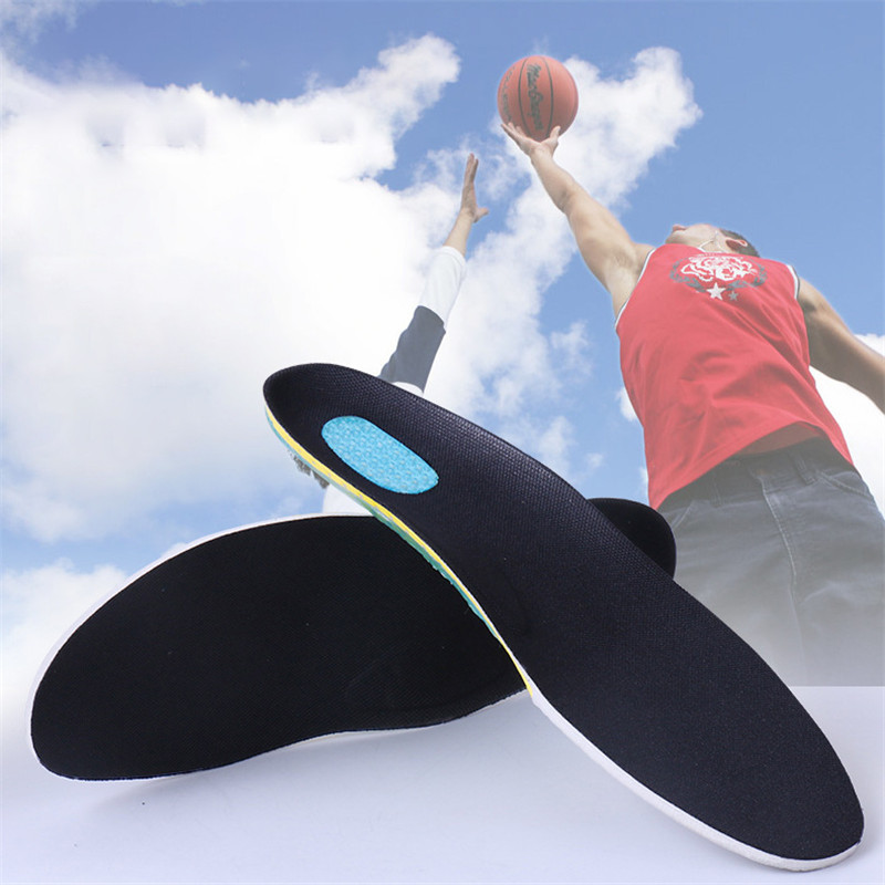 Silicon Gel Insoles Foot Care for Plantar Fasciitis Heel Spur Running Sport Insoles Shock Absorption Breathable Pads
