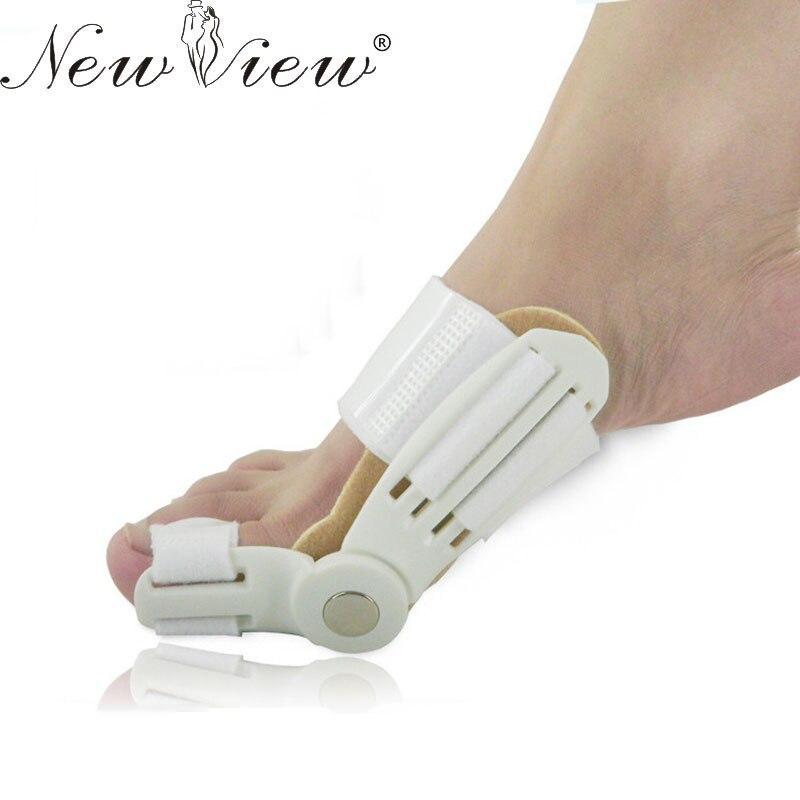1 unid Dedo Gordo Del Pie Juanete Splint Straightener corrector Foot Pain Relief Hallux Valgus Unisex Ortopédicos suministros Herramienta Del Cuidado de Pie