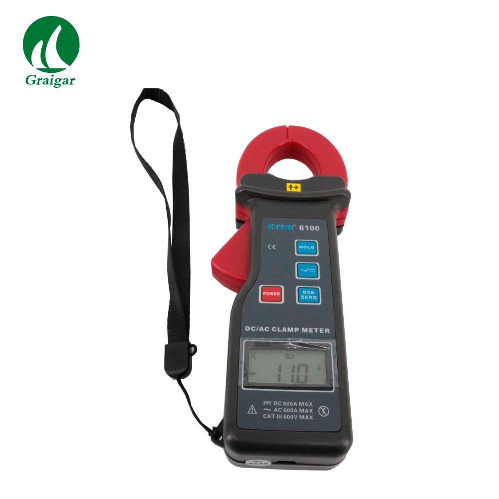 купить High Accuracy Clamp Leaker ETCR6100 AC/DC Clamp Current Meter 0.0A 1000A по цене 5004.62 рублей