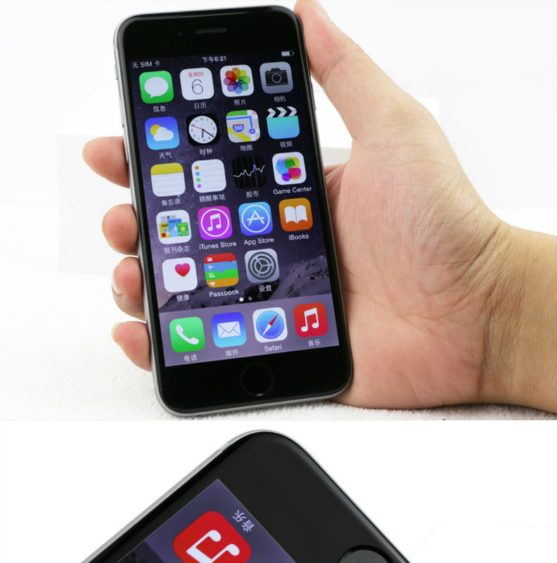 Unlocked Apple iPhone 6 1GB RAM 4.7inch IOS Dual Core 1.4GHz 8.0 MP 3G WCDMA 4G LTE iPhone 6 16GB gold 14