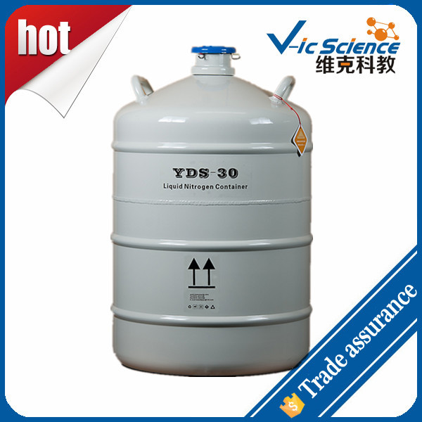 YDS-30 Liquid nitrogen container for storage biology specimen yds 2 30 2l small capacity of the liquid nitrogen tank