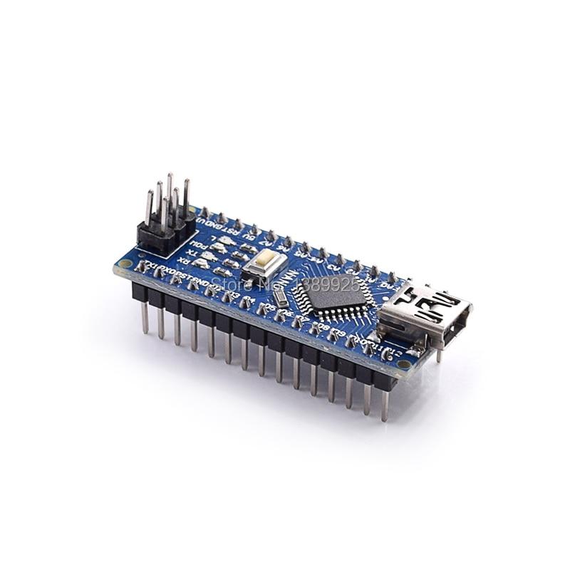 100 ШТ. Nano 3.0 контроллер совместим с ar-дуй-нет nano CH340 USB драйвер БЕЗ КАБЕЛЯ NANO V3.0