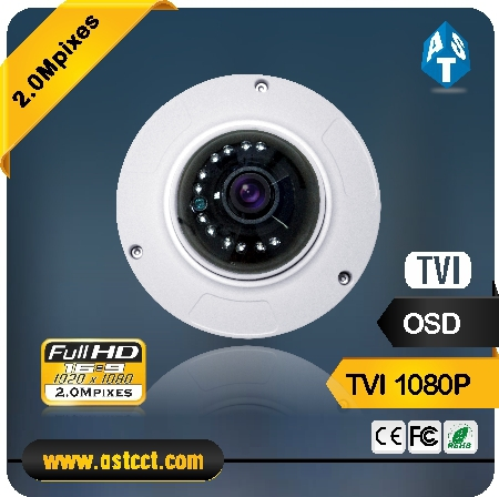 Fisheyes 360 degress TVI Dome Camera 2.1mm lens ,HD TVI output 1080p HD TVI mini IR Dome cctv camera ip66 tvi security camera стенд для двигателя matrix
