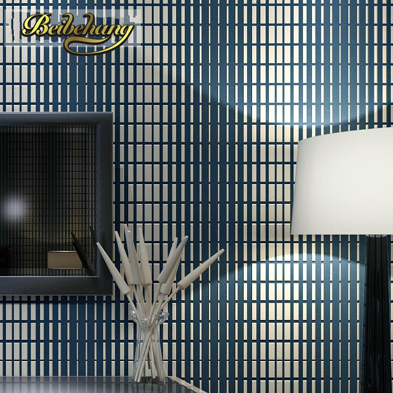 beibehang Non-woven Wallpaper mosaics design wallcovering simple modern wall paper for living room home deroration papel de pare beibehang non woven pink love printed wallpaper roll striped design wall paper for kid room girls minimalist home decoration