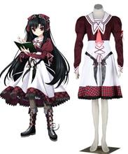 11 ojos: El Pecado, la condenación, y la Expiación Chica Kanae Kuroshiba Criada de Anime Cosplay Costume